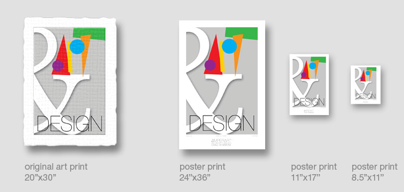 AmperArt art print & poster sizes