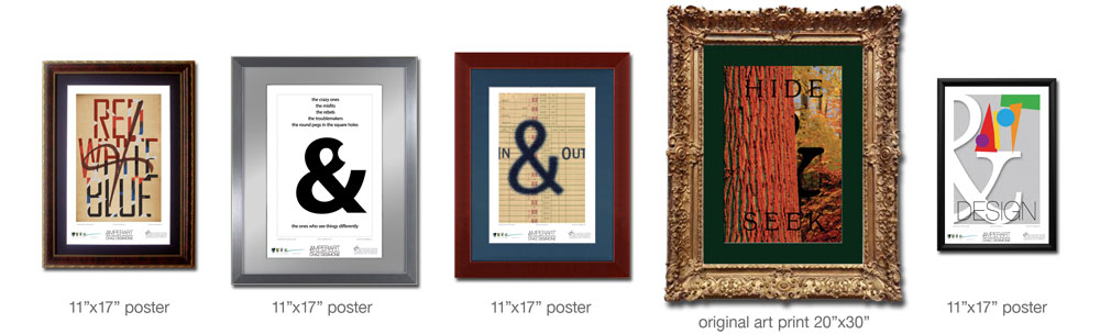 Enhance AmperArt prints with special frames