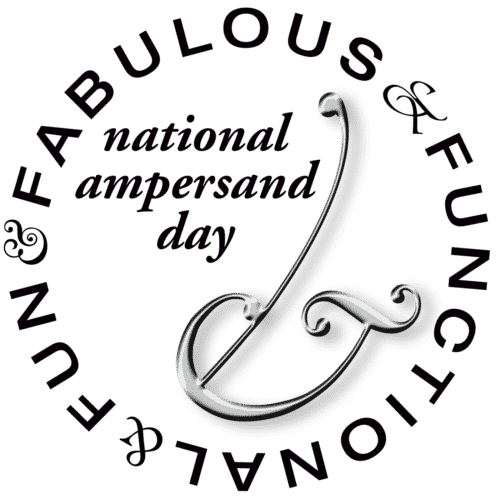 national ampersand day sept 8 amperart