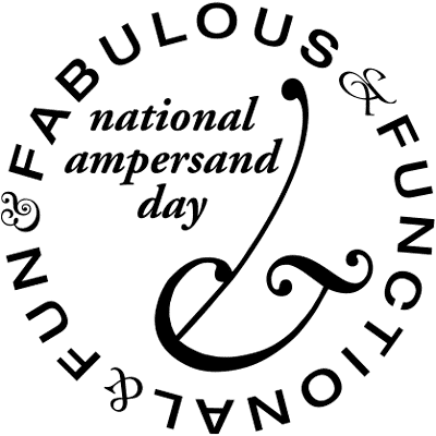 National Ampersand Day Logo