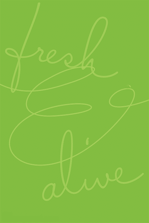 #98 Fresh & Alive color of Pantone Greenery