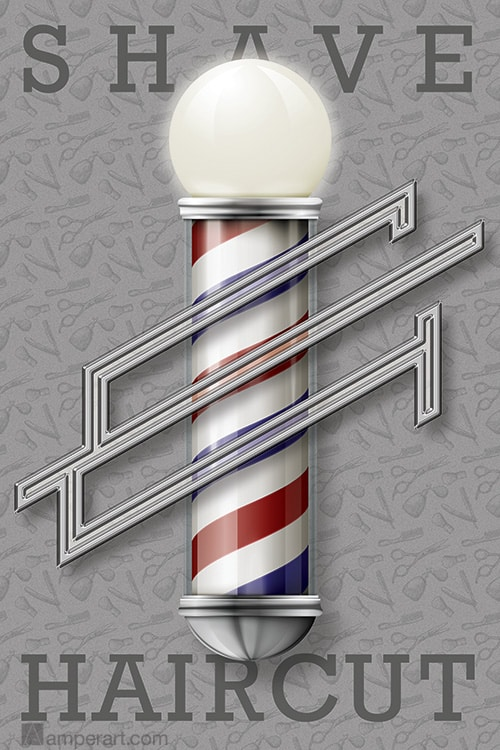 AmperArt #62 Shave & Haircut