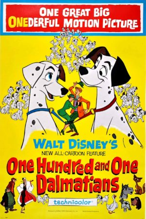 One Hundred and One Dalmations Movie Poster