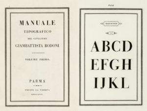 1818 Manuale-Tipografico, Bodoni