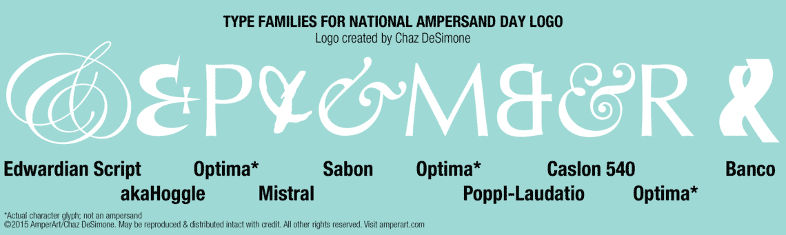 Ampersand Day font callouts