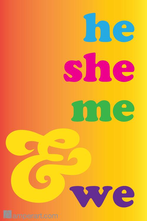 110 He She Me & We