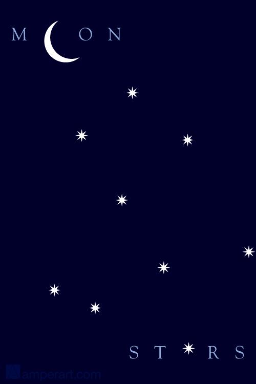 115 Moon & Stars