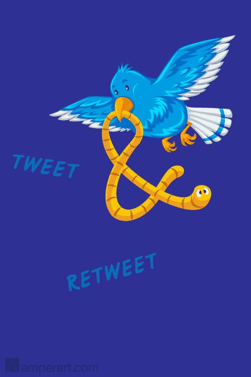 AmperArt #120 Tweet & Retweet