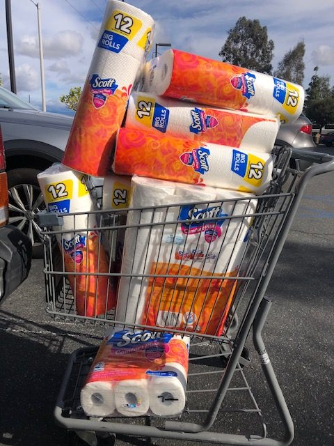 Stocked up on TP