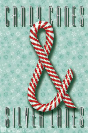 #73 Candy Canes & Silver Lanes